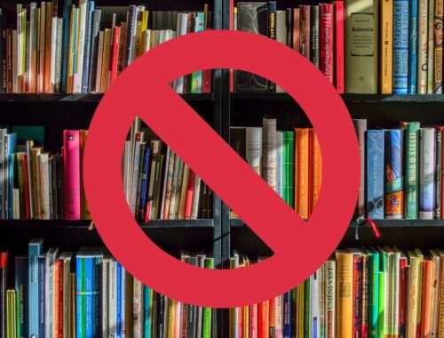 Cenzura książek biblioteki