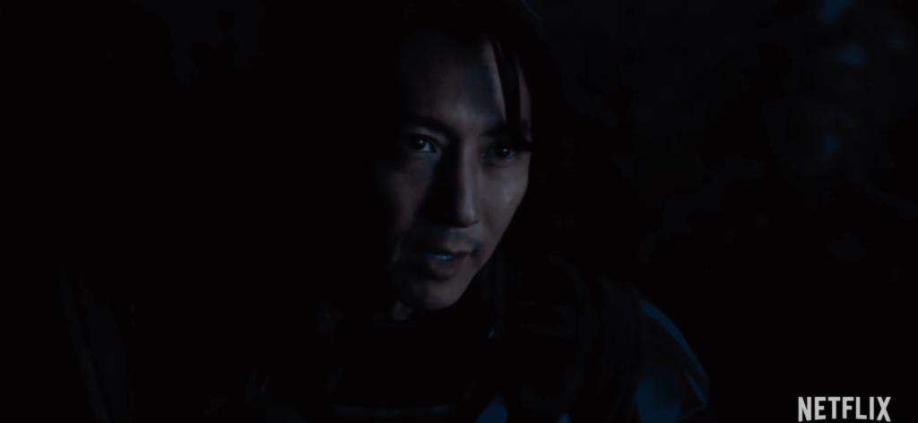 Młody Takeshi Kovacs w 2. sezonie Altered Carbon